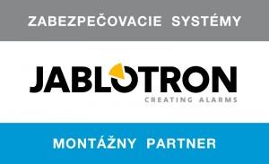Jablotron - montážny partner